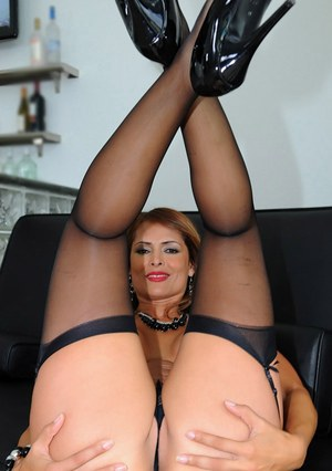Sex mature stockings gallery pussy