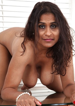 indian black woman Nude mature