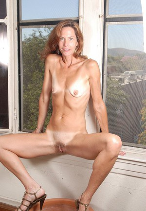 Naked skinny mature