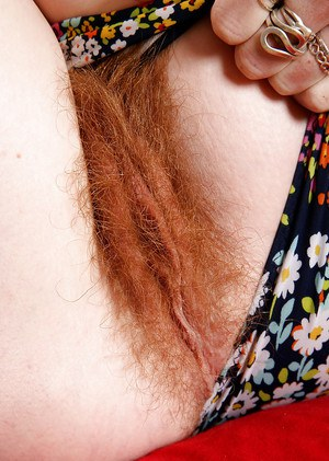 Red pussies hair hairy Redhead