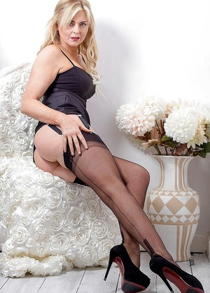 Ideal mature stockings