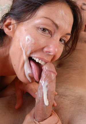 Cumshot for mature